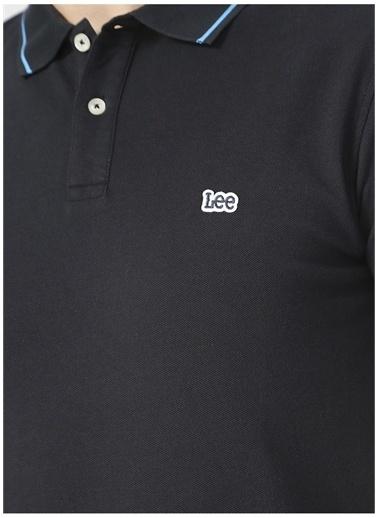 Lee Lee L61ARL01_Polo T-shirt  Siyah